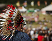 Classic festival head gear on show at Bestival