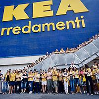 Sciopero nazionale dei dipendenti  IKEA