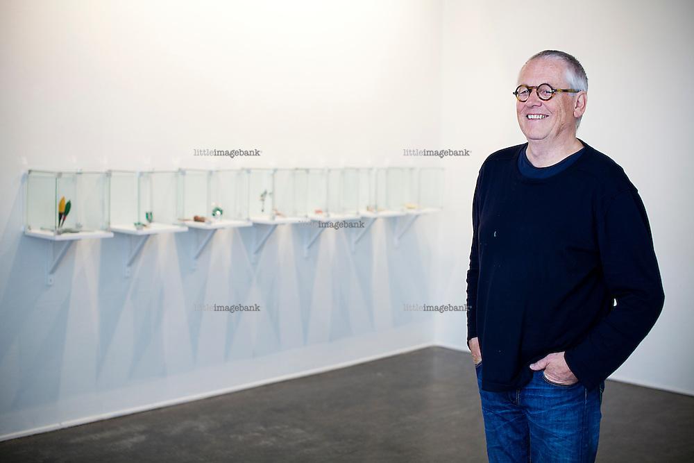 Oslo, Norge, 04.07.2012. Kunstneren Konrad Mehus stiller ut i Oslo. Foto: Christopher Olssøn.