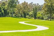 Walking Path Through Mason Park