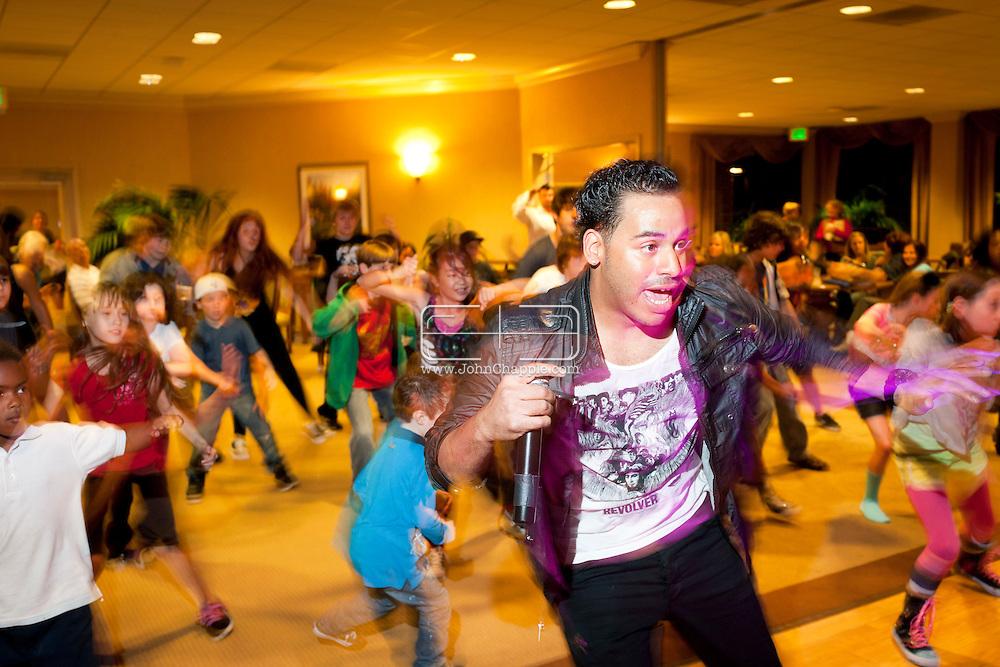 February 7th, 2012, Los Angeles, California.  Children at Oakwood take part in a Hip-Hop Dance Class.  PHOTO © JOHN CHAPPLE / www.johnchapple.com.