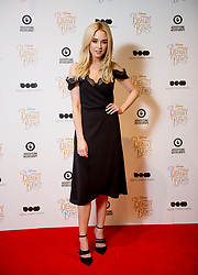 © Licensed to London News Pictures. 11/03/2017. London, UK. Made in Chelsea star Nicola Hughes attending the Digital Cinema Media screening of Beauty and the Beast during Ad Week at Picturehouse Central. Photo credit : David Tett/LNP