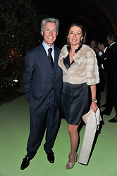 MR & MRS JEAN-FRANCOIS DECAUX at a dinner hosted by Cartier in celebration of the Chelsea Flower Show held at Battersea Power Station, 188 Kirtling Street, London SW8 on 23rd May 2011.