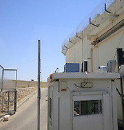 The wall and security by the  Israeli government<br /> Photo by Dennis Brack