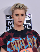JUSTIN BIEBER @ the 2015 American Music Awards held @ the Micorsoft theatre.<br /> ©Exclusivepix Media