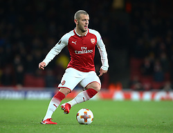 December 7, 2017 - London, England, United Kingdom - Arsenal's Jack Wilshere.during UEFA Europa League Group H match between Arsenal and BATE Borisov at The Emirates , London 7 Dec  2017  (Credit Image: © Kieran Galvin/NurPhoto via ZUMA Press)