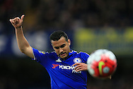Pedro of Chelsea looks on.Barclays Premier league match, Chelsea v Tottenham Hotspur at Stamford Bridge in London on Monday 2nd May 2016.<br /> pic by Andrew Orchard, Andrew Orchard sports photography.