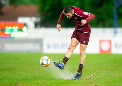 David Tijanić of Triglav during football match between NK Triglav Kranj and NK Domzale in 35th Round of Prva liga Telekom Slovenije 2018/19, on May 22nd, 2019, in Sports park Kranj, Slovenia. Photo by Vid Ponikvar / Sportida