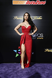 """HOLLYWOOD, CA - NOVEMBER 09: Victoria """"La Mala"""" Ortiz attends the 18th edition of 'Los Premios de la Radio' held at the Dolby Theater on November 09, 2017 in Los Angeles, California. Byline, credit, TV usage, web usage or linkback must read SILVEXPHOTO.COM. Failure to byline correctly will incur double the agreed fee. Tel: +1 714 504 6870."""