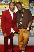 l tor: Raphael Saddiq and Slick Rick at The 2008 Black August Benefit Concert held at BB Kings on August 31, 2008..2008 begins the second decade of Black August Hip Hop Project benefit concerts which assist and support Political Prisoners. The Malcolm X Grassroots Movement is an organization whose mission is to defend the human rights of people and promote self-determination in our community.