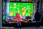 Digital Christmas NYC, NY by Star Nigro<br /> starnigro.com<br /> <br /> <br /> © 2021  All artwork is the property of STAR NIGRO.  Reproduction is strictly prohibited.