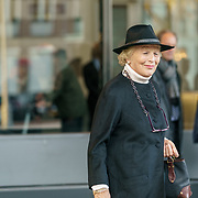 NLD/Amsterdam/20181027 - Herdenkingsdienst Wim Kok, Martine van Loon - Labouchere