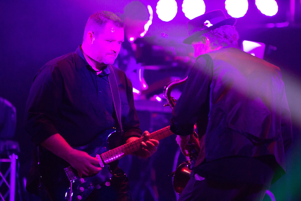 Dark Side of the Moon performs at First Night Akron 2015 in the Akron Civic Theatre