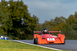 Raymond Barley in action while competing in the 750 Motor Club's 750 Formula Championship. Picture taken at Snetterton on October 17/18, 2020 by 750 Motor Club's photographer Jonathan Elsey