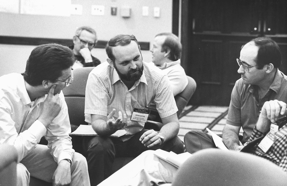 ©1987   Management seminar for city managers, Austin, Texas