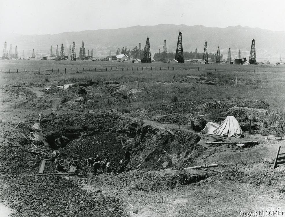 1920 La Brea Tar Pits