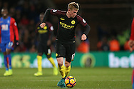 Kevin De Bruyne of Manchester City in action. Premier League match, Crystal Palace v Manchester city at Selhurst Park in London on Saturday 19th November 2016. pic by John Patrick Fletcher, Andrew Orchard sports photography.