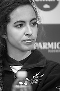 Putney, London,  Tideway Week, Championship Course. River Thames, CUWBC, Press Conference, Cox  Eleanor SHEARER.<br /> Friday  31.03.2017<br /> <br /> [Mandatory Credit; Credit: Peter SPURRIER/Intersport Images.com ]