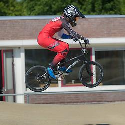 02-06-2021: BMX: Zusjes Smulders: Wijchen<br />Laura Smulders mag na London en Rio Nederland vertegenwoordigen op de Spelen van Tokio