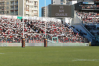 Hommage Charlie Hebdo - 10.01.2015 - Toulon / Racing Metro - 16e journee Top 14<br />Photo : Jc Magnenet / Icon Sport