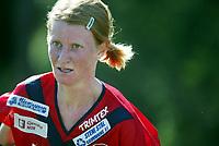 Orientering, 21. juni 2002. NM sprint. Birgitte Huseby, Fredrikstad.