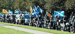 All Under One Banner Independence March, Edinburgh, Saturday 6th October 2018<br /> <br /> Pictured: Bikers for Independence<br /> <br /> (c) Aimee Todd | Edinburgh Elite media