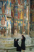Roumanie, Moldavie, Monastère Moldovita. // Moldovita  monastery, Moldavia, Romania