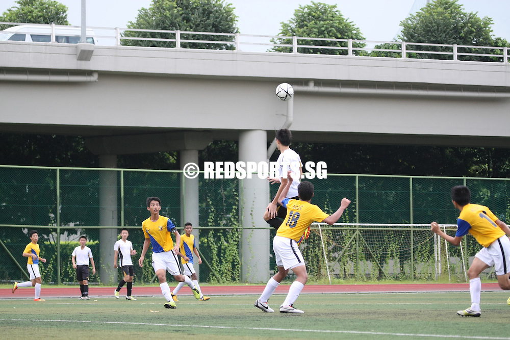 St. Andrew's Junior College, Friday, May 10, 2013 – Anglo-Chinese Junior College (ACJC) held favourites Victoria Junior College (VJC) to a 0–0 draw to top their Round 2 group in the National A Division Football Championship.<br /> <br /> Story: http://www.redsports.sg/2013/05/15/a-div-football-boys-acjc-vjc/