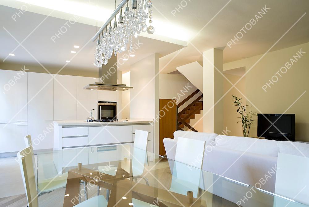 New interior design apartment, living room