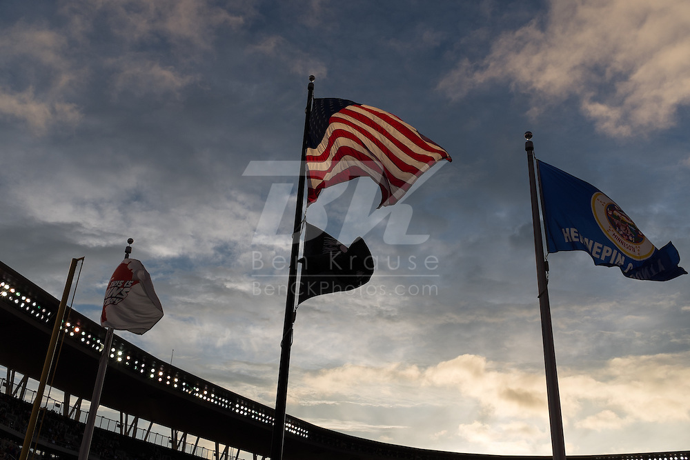 A general view of Target Field on May 27, 2014 in Minneapolis, Minnesota.  Photo by Ben Krause