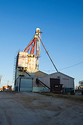 Grain elevator story for Oklahoma LIving Magazine