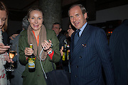 Michaela de Pury; Simon de Pury, DINNER TO CELEBRATE THE ARTISTS OF FRIEZE PROJECTS AND THE EMDASH AWARD 2012 hosted by ANDREA DIBELIUS founder EMDASH FOUNDATION, AMANDA SHARP and MATTHEW SLOTOVER founders FRIEZE. THE FORMER CENTRAL ST MARTIN'S SCHOOL OF ART AND DESIGN, SOUTHAMPTON ROW, LONDON WC1. 11 October 2012