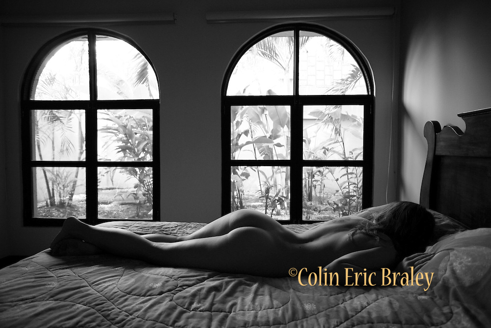 Beautiful, tasteful, artistic and glamour nudes photographed on location in a non studio setting by Kansas City, Missouri, Kansas photographer, Colin E. Braley