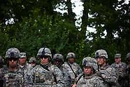 48th Brigade Trains at Camp Atterbury, Indiana
