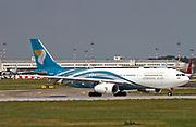 A4O-DC Oman Air Airbus A330-243 at Malpensa (MXP / LIMC), Milan, Italy