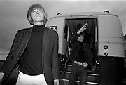 The Rolling Stones Charlie is my Darling - Ireland 1965- Brian Jones and Keith Richards of The Rolling Stones exiting the airport bus at Dublin Airport before thier concert at the Adelphi Theatre. This was the band's second Irish tour of 1965...The Rolling Stones Charlie is my Darling - Ireland 1965.Out November 2nd from ABKCO.Super Deluxe Box Set/Blu-ray and DVD Details Revealed. .03/09/1965.09/03/1965.03 September 1965..ABKCO Films is proud to join in the celebration of the Rolling Stones 50th Anniversary by announcing exclusive details of the release of the legendary, but never before officially released film, The Rolling Stones Charlie is my Darling - Ireland 1965.  The film marked the cinematic debut of the band, and will be released in Super Deluxe Box Set, Blu-ray and DVD configurations on November 2nd (5th in UK & 6th in North America).. .The Rolling Stones Charlie is my Darling - Ireland 1965 was shot on a quick weekend tour of Ireland just weeks after ?(I Can't Get No) Satisfaction? hit # 1 on the charts and became the international anthem for an entire generation.  Charlie is my Darling is an intimate, behind-the-scenes diary of life on the road with the young Rolling Stones featuring the first professionally filmed concert performances of the band's long and storied touring career, documenting the early frenzy of their fans and the riots their live performances incited.. .Charlie is my Darling showcases dramatic concert footage - including electrifying performances of ?The Last Time,? ?Time Is On My Side? and the first ever concert performance of the Stones counterculture classic, ?(I Can't Get No) Satisfaction.?  Candid, off-the-cuff interviews are juxtaposed with revealing, comical scenes of the band goofing around with each other. It's also an insider's glimpse into the band's developing musical style by blending blues, R&B and rock-n-roll riffs, and the film captures the spark about to combust into The Greatest Rock and Roll Band in the World.. .The
