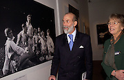 Prince Michael of Kent, Beaton at Large, an exhibition of modern prints from Cecil Beaton's studio archive, Sotheby's. 9 February 2004. © Copyright Photograph by Dafydd Jones 66 Stockwell Park Rd. London SW9 0DA Tel 020 7733 0108 www.dafjones.com