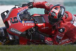February 7, 2019 - Sepang, Malaysia - Mission Winnow Ducati's rider Danilo Petrucci of Italy takes a corner during the second day of the 2019 MotoGP pre-season testing at Sepang International Circuit February 7, 2019. (Credit Image: © Zahim Mohd/NurPhoto via ZUMA Press)