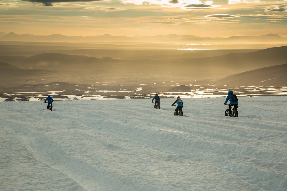 Langjokull Glacier.  Iceland.