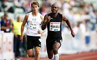 Friidrett , 7. juni 2012 , Foran Bislett Games ,  Diamond League<br /> Per Magnus Arjun Solli , Norge100 m National event