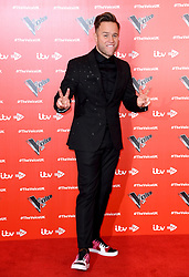 Olly Murs attending The Voice UK 2019 Launch Photocall held at W Hotel, Leicester Square, London. Picture credit should read: Doug Peters/EMPICS