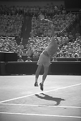 August 19, 2018 - Cincinnati, OH, USA - Western and Southern Open Tennis, Cincinnati, OH - August 19, 2018 - Novak Djokovic in action in infra-red against Roger Federer  in the finals of the Western and Southern Tennis tournament held in Cincinnati. Djokovic won 6-3 6-3. - Photo by Wally Nell/ZUMA Press (Credit Image: © Wally Nell via ZUMA Wire)