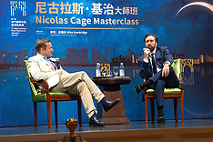 Nicholas Cage masterclass at the International Film Festival and Awards Macao - 08 Dec 2018