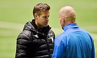 Fotball , 14. februar 2020 , Privatkamp , Bodø/Glimt - Strømsgodset 5-0<br /> trener Henrik Pedersen , SIF<br /> trener Kjetil Knutsen , Glimt