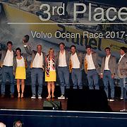 NLD/Scheveningen/20180630 - Koning bij Award Diner Volvo Ocean Race, Team Brunel<br /> Volvo Ocean 65