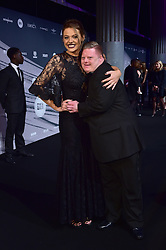 Shana Swash and Steven Brandon bei den British Independent Film Awards in London / 041216<br /> <br /> <br /> *** at the British Independent Film Awards in London on December 4th, 2016 ***
