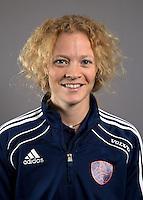 AMSTELVEEN - Manager SASKIA REUHMAN , Nederlands Meisjes B hockey. Foto KOEN SUYK