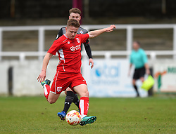 Joe McNulty of Bristol City takes a shot at goal - Mandatory by-line: Paul Knight/JMP - 16/02/2017 - FOOTBALL - Twerton Park - Bath, England - Bristol City U23 v Southampton U23 - Premier League 2 Cup