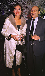 MR & MRS RATAN MAHTANI, she was formerly a good friend of Sarah, Duchess of York, at a party in London on 9th December 1998.MMU 86