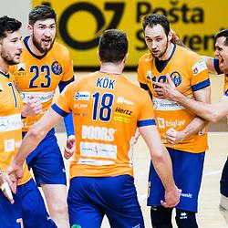 20210320: SLO, Volleyball - 1. DOL Semifinals, ACH Volley Ljubljana vs Calcit Kamnik